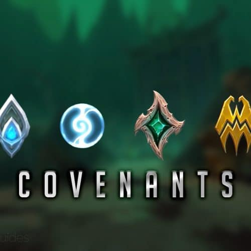 Shadowlands Covenants Overview