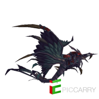 Armored Red Dragonhawk
