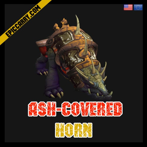 Ash Covered Horn