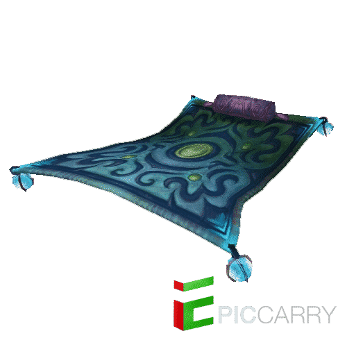 Frosty Flying Carpet
