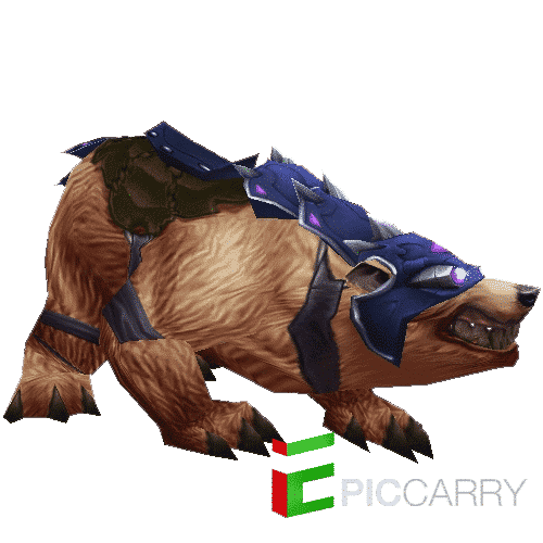 ARMORED BROWN BEAR