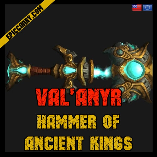 Val'anyr, Hammer of Ancient Kings, buy wow gear, wow gear sale, wow item, wow buy gear, pve boost, wow items