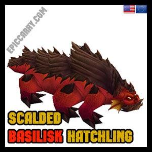 Scalded Basilisk Hatchling