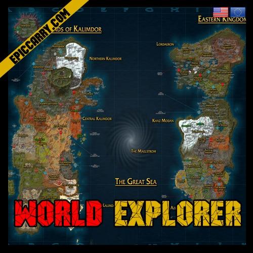World Explorer, wow achievement World Explorer, wow World Explorer